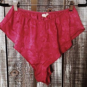 80s Victoria's Secret High Cut Lingerie Shorts